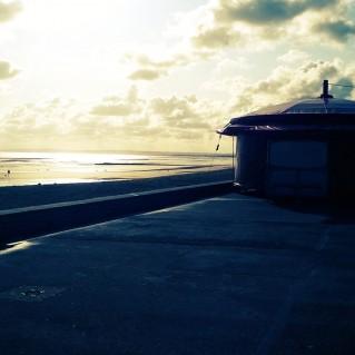plage de lion sur mer un vendredi d'Aout
