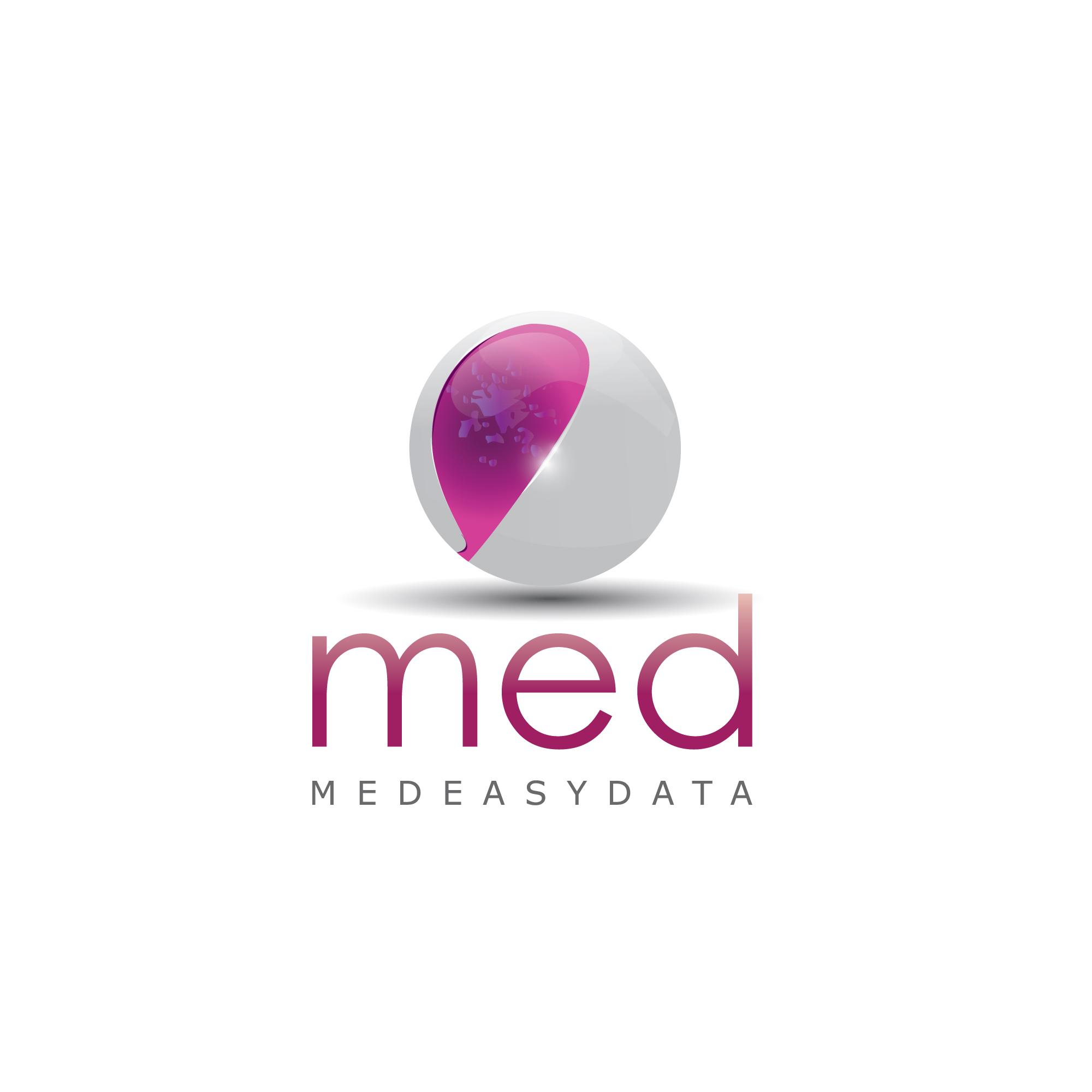Logo haute technologie médicale