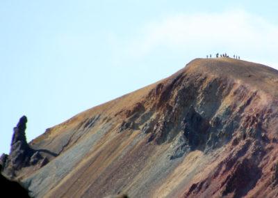 trek en islande montagne