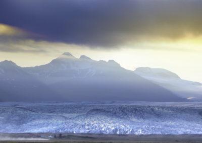 glacier en iceland islande