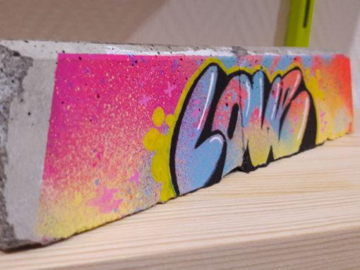 Street art à la maison