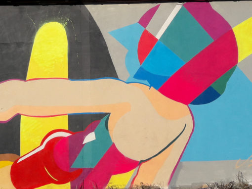 Astro boy street art Cora Rots