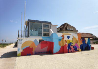 street art normandie hermanville sur mer caen solice