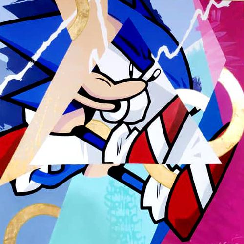 Sonic ART graffiti